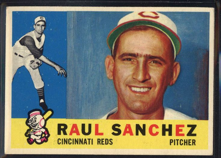 1960 Topps #311 Raul Sanchez - NM *078-395 #Topps #CincinnatiReds