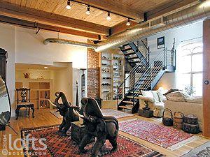 Boston Lofts by LoftsBoston.com, Inc. >> Boston Residential Loft Rental >> 60 Tufts Street #11
