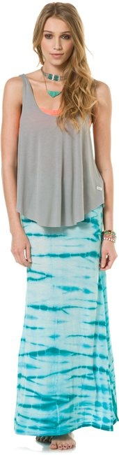 BILLABONG MIDWAY LUV MAXI SKIRT http://www.swell.com/Womens-Skirts @Billabong Girls