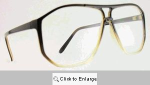MIT Clear Lens Aviator Glasses - 278 Brown