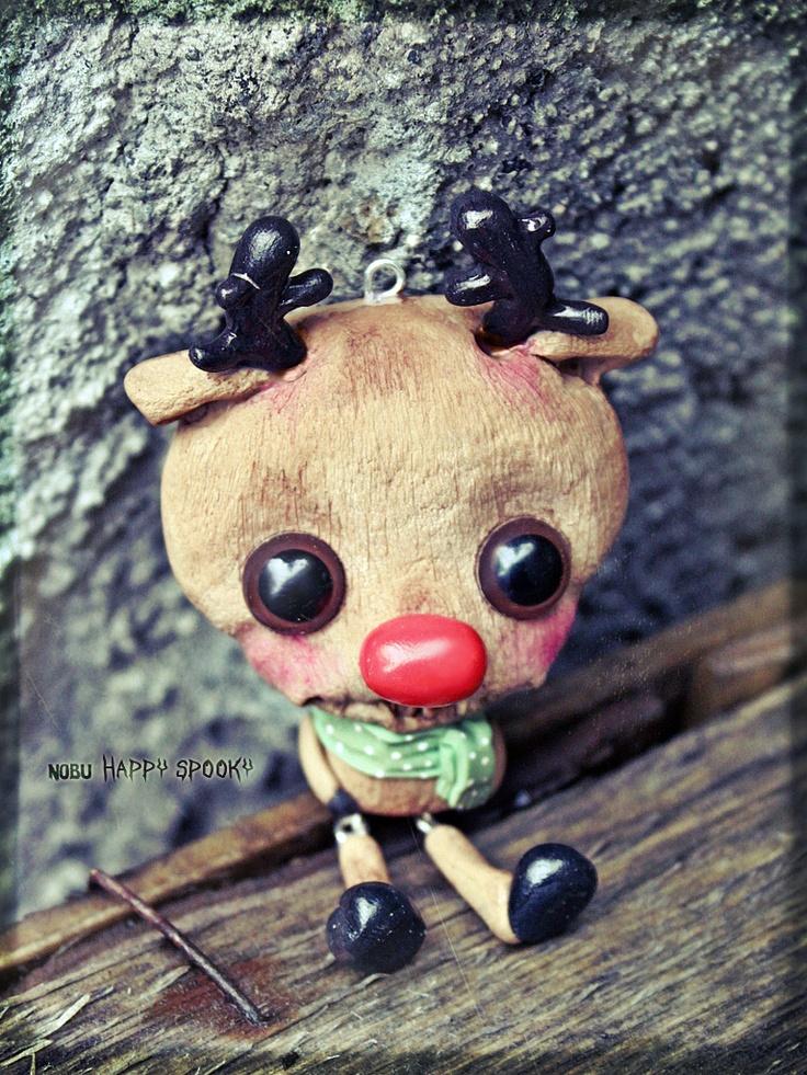 Happy Spooky Reindeer