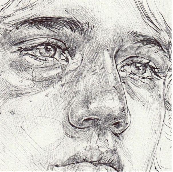 Neva Hosking Drawing http://nevahosking.bigcartel.com/