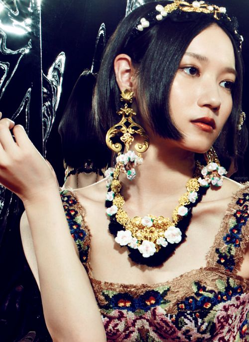 """punipuri: Nocchi • VOGUE JAPAN November 2012 """