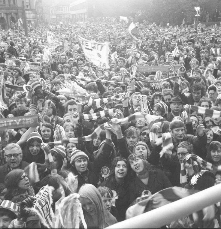 Stoke City Fans 1972