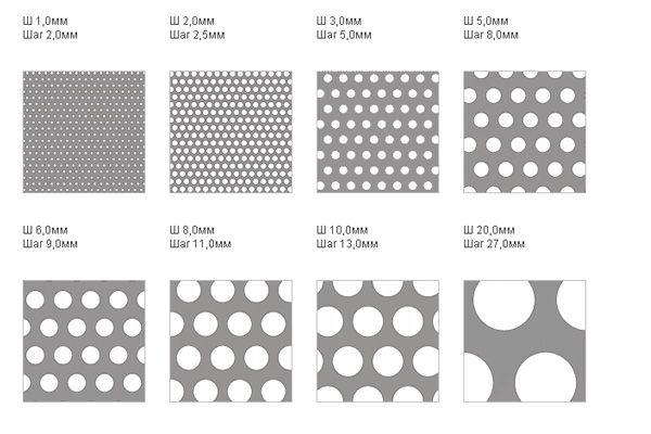 Сетка54 - продажа металлической сетки - Перфорированный металл