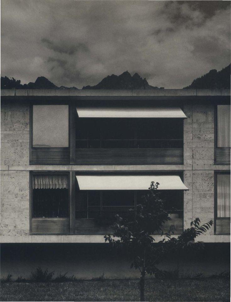 1993 Residential home for the elderly, Masans, Chur, Graubünden, Switzerland