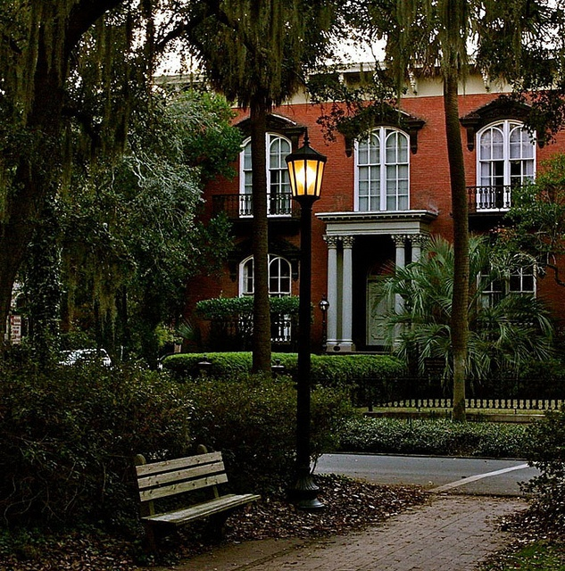 Mercer House - Home of Jim Williams, Midnight in the Garden of Good and Evil