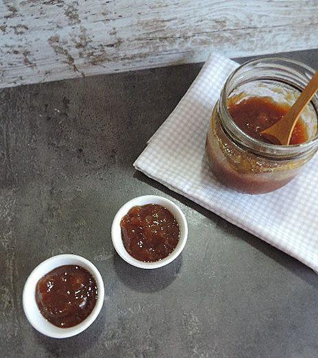 marronglacè: Mermelada de nectarina con azúcar moreno