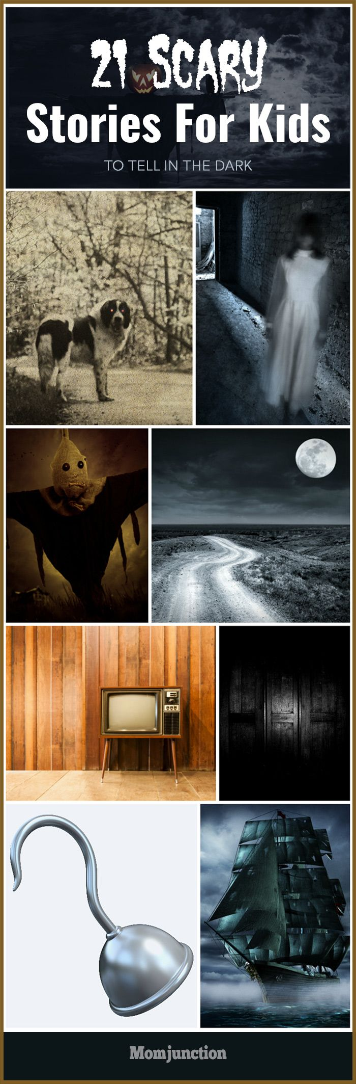 21 Scary Stories For Kids To Tell In The Dark