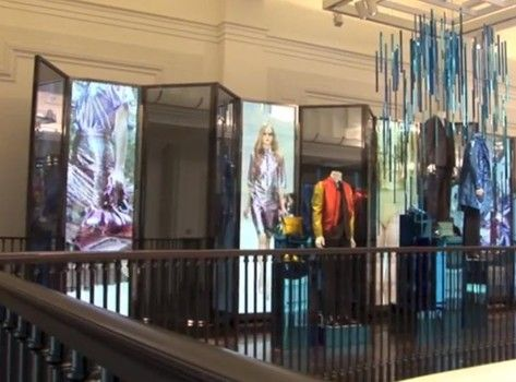 "Unfortunately, it wasn't us... Retail technology: What is next? ""ZetaDisplay turned Burberry flagship store into an interactive and full-of-energy store"""