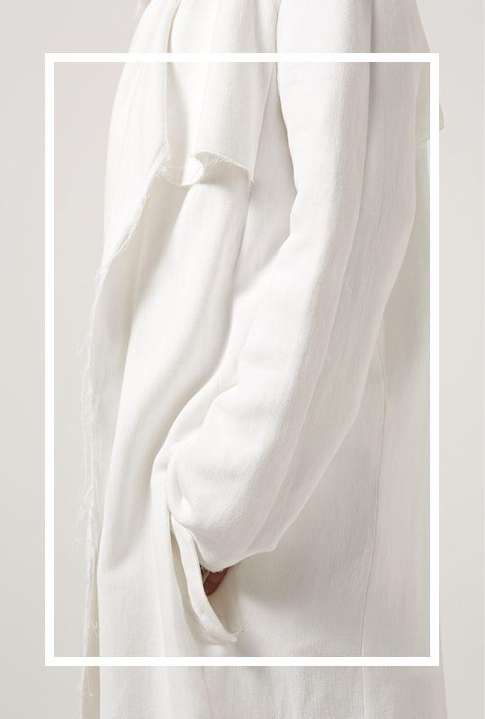 soft triple drapey coat | http://bssk.co/1tgzjZn