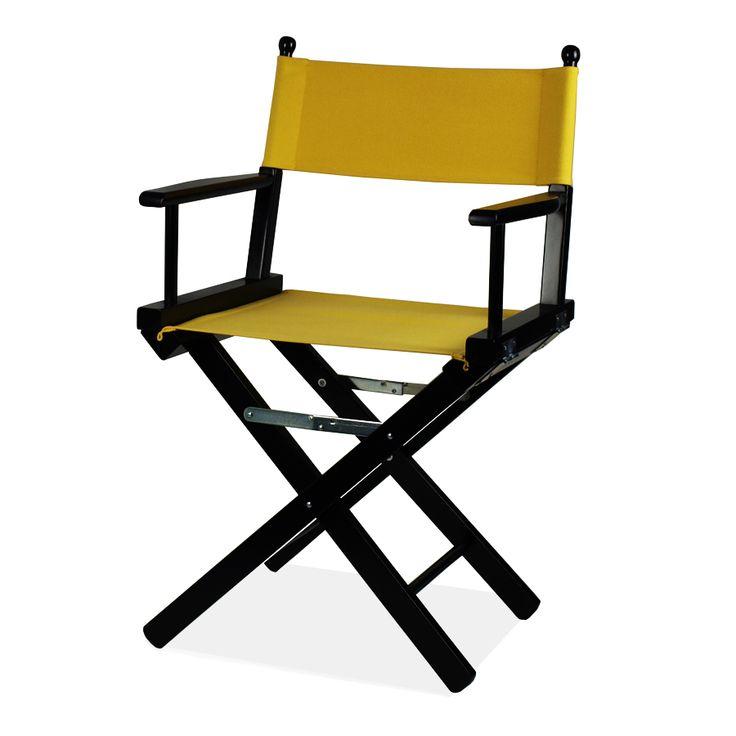 Regista P-AN. La sedia da regista  rimane un classico delle sedie pieghevoli per qualsiasi stile.
