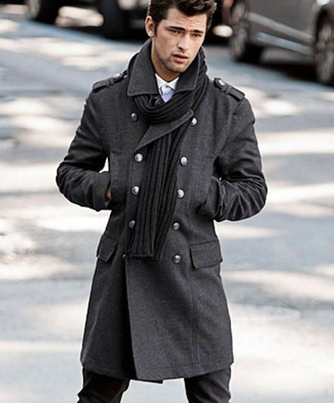 24 best men's coat images on Pinterest | Men coat, Menswear and ...