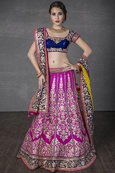Ghagra Choli | Buy Designer Ghagra Choli Online | BenzerWorld