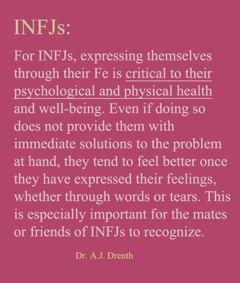 INFJ - This is so true