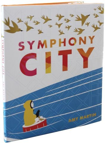 Winner of the 2012 Marion Vannett Ridgway Honor Award! In Symphony City, a young girl, lost in a big city, makes her way home by following the rich and vibrant music of the streets. Bursting with bright colors and narrated in lively, staccato phrases, Amy Martin's debut children's book is at once a sweeping page-turner and a book that makes you want to stop and pore over every page.Symphony City is an exciting adventure story for children and parents who love music, art, and imagination…