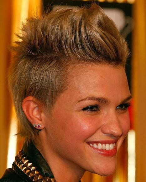 59 Best Faux Hawk Hairstyle Images On Pinterest: 130 Best Images About Kapsels 86 Blond Haar .... On
