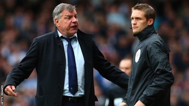 Referees need academies says West Ham boss Sam Allardyce - Article From BBC Website - http://footballfeeder.co.uk/news/referees-need-academies-says-west-ham-boss-sam-allardyce-article-from-bbc-website/