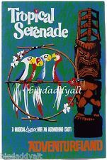 New Disney ENCHANTED TIKI ROOM Poster Metal Tin Sign WDW 40th Limited Edition