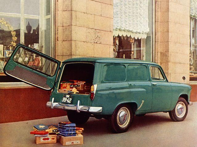 1963. Moskvich 432 van.