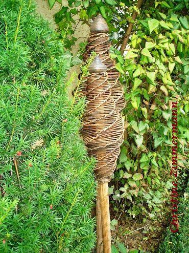 Weiden flechten   Garten Netz Werk