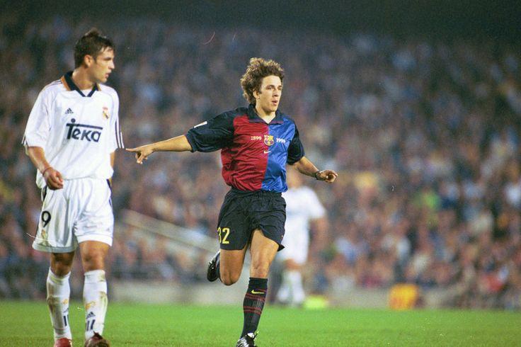 Carles Puyol debutó en el Camp Nou contra el Real Madrid el 13 de octubre de 1999 de la mano de Van Gaal