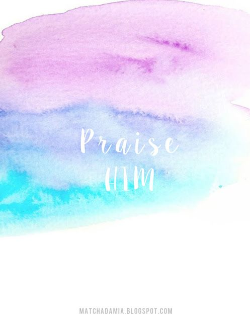 Praise HIM // Inspirational Bible Verse // Quotes