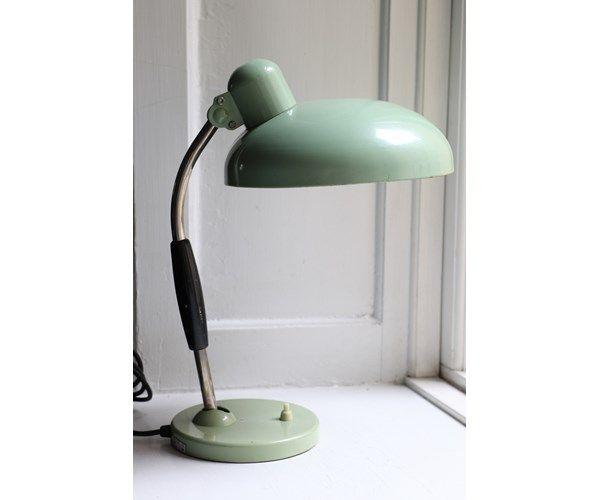 Christian Dell, Bauhaus lampe, bordlampe, Bauhaus design. Skal være brugt.