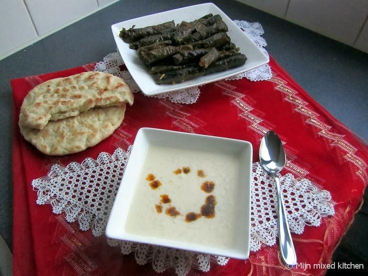 Yayla çorbası (Turkse yoghurtsoep)