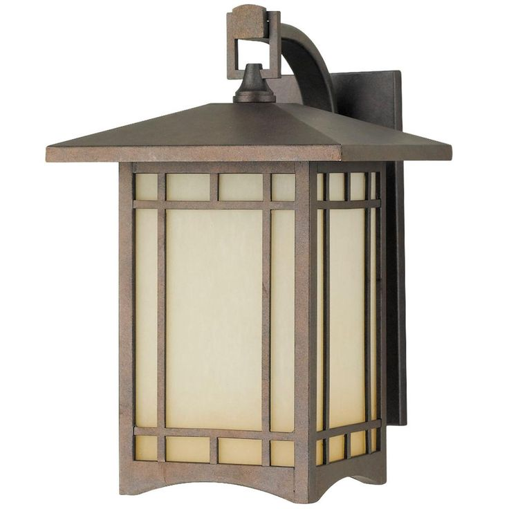 Arts and crafts outdoor wall light medium for Modern craftsman lighting