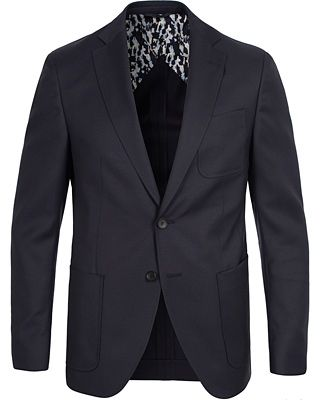 BOSS Raye4 Stretch Blazer Navy