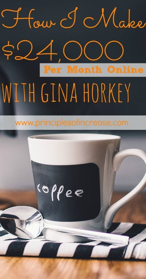 In this podcast, Gina Horkey from Horkey Handbook stopped by to discuss her most recent blog income report and how she made over $24,000 from blogging in ONE month. She's discussing how she make money and earns a living online.