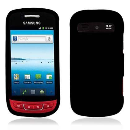 For Metropcs Samsung Admire R720 Accessory - Rubber Black Hard Case Proctor Cover  #LF #Wireless