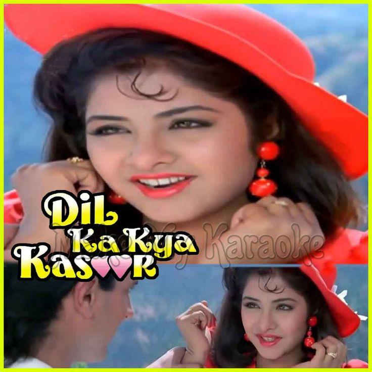 https://makemykaraoke.com/milne-ki-tum-koshish-dil-ka-kya-kasoor-video.html  Song Name : Milne Ki Tum Koshish    Movie/Album : Dil Ka Kya Kasoor    Singer(s) : Asha Bhosle, Kumar Sanu   Year Of Release : 1992   Music Director : Nadeem-Shravan   Cast In Movie : Divya B...