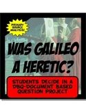 Galileo Guilty or Not? DBQ Common Core Literacy & Writing
