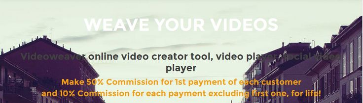 VideoWeaver is an online video creating tool, online video player and social video player. Download mp4, social share (play), embed, fully responsive videos ...