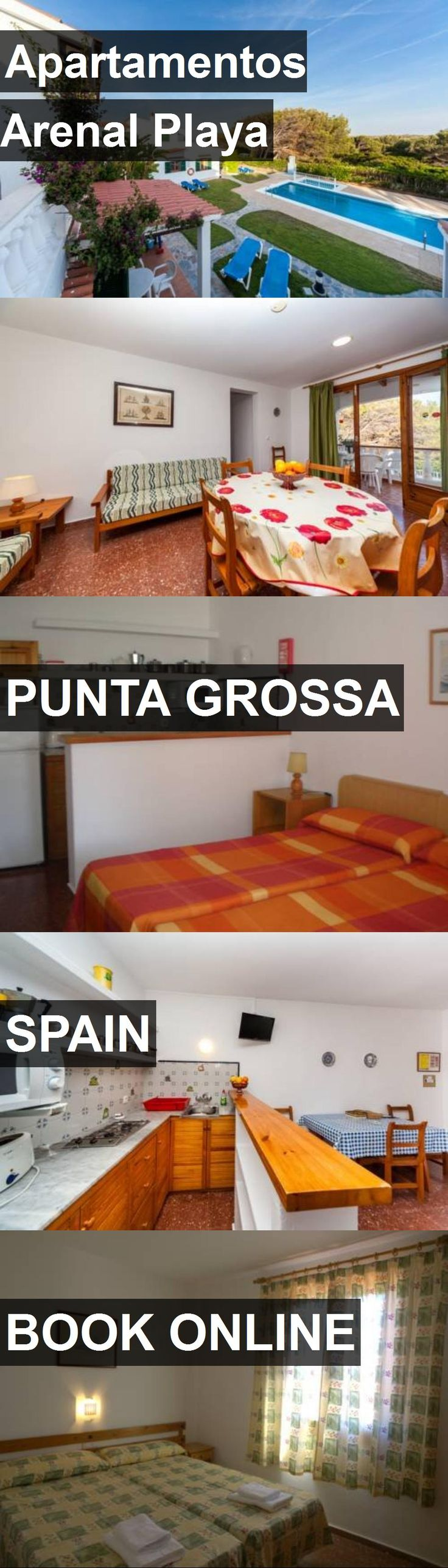 Hotel Apartamentos Arenal Playa in Punta Grossa, Spain. For more information, photos, reviews and best prices please follow the link. #Spain #PuntaGrossa #ApartamentosArenalPlaya #hotel #travel #vacation