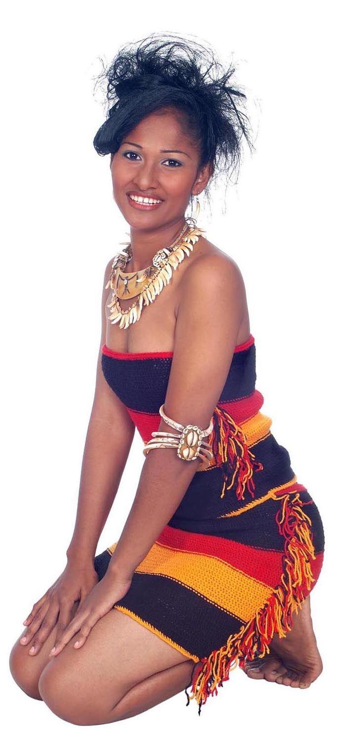 Papua New Guinea dress by Lava Lava Inspirations.