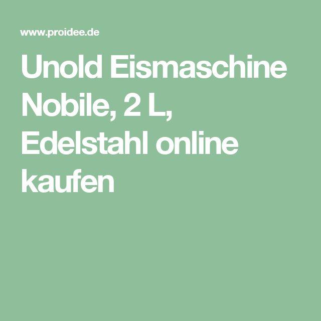 Unold Eismaschine Nobile, 2 L, Edelstahl online kaufen