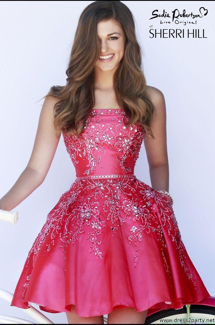 Mejores 103 imágenes de Sherri Hill Dresses en Pinterest | Vestidos ...