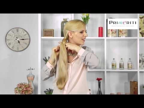 Peinados fáciles: trenza escalera paso a paso (chinese staircase ponytail/braid tutorial)