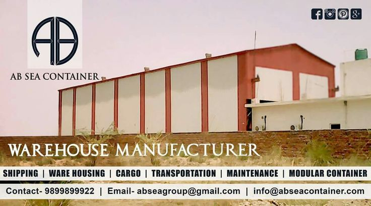 "AB Sea Container have produced several warehouses and storage containers to be used as warehouse stuffing. We provide warehousing consultancy, warehousing solutions and as well as we fabricate warehouse and factory shed of any size.""Too much is never Enough"", We have our very own 30,000 SQFT, State Of The Art Warehouse which provide the best modern amenities. Visit: www.abseacontainer.com #explore #dryfreightcontainer #officecontainer #Modularcontainer #customizedcontainer #bunkhouse…"