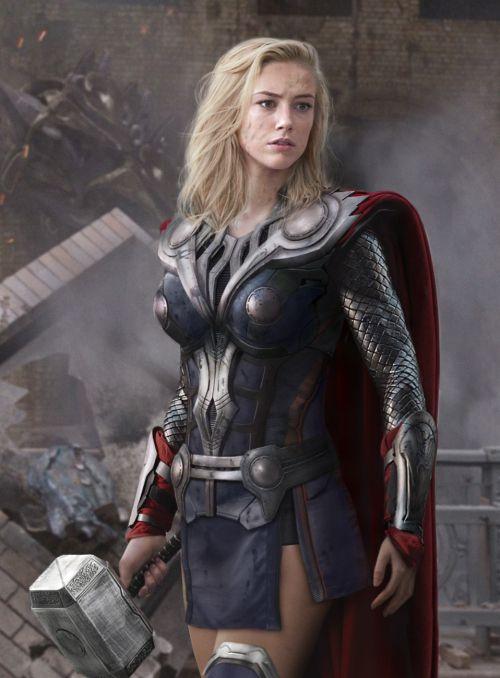 Girl Power! E se os heróis fossem mulheres?