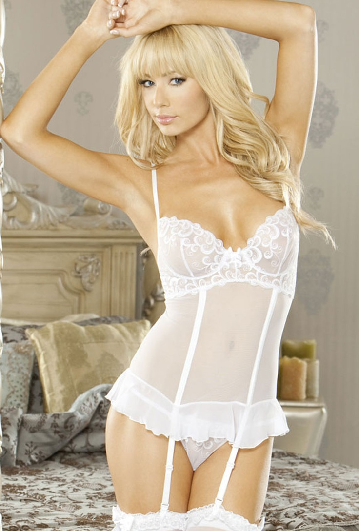Consider, that elegant white wedding lingerie