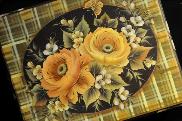Роспись по дереву Татьяны Кудрявцевой - Ярмарка Мастеров - ручная работа, handmade