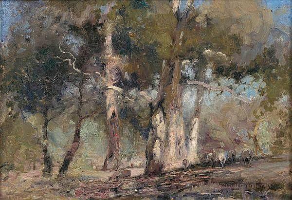 Walter Withers Eltham Australian Painting Landscape Artist Art