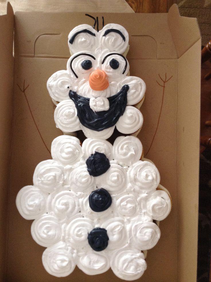 Cupcakes to make a cake!