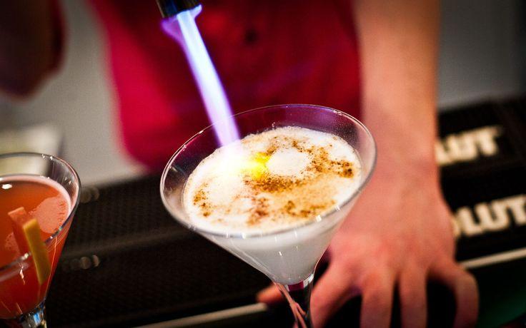 Crème brûlée Martini