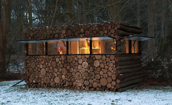 17 best images about cordwood construction dream on for Cordwood shed