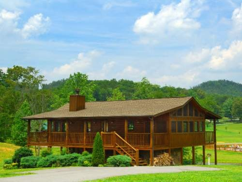Smoky creek cabins mallard 39 s nest pigeon forge and for Gatlinburg cabins with fishing access